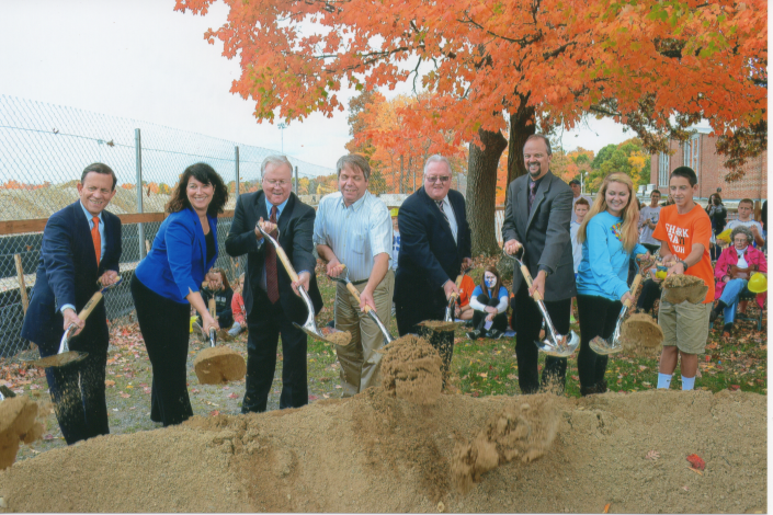 Lunenburg Middle/High School groundbreaking