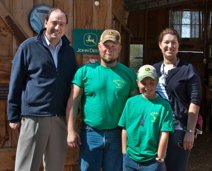 Stanley Farm Visit