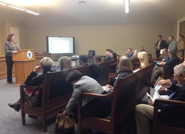 Representative Benson hosts ASOST Issue Briefing