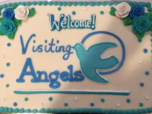 The Open House and Ribbon Cutting was celebrated with a delicious treat.